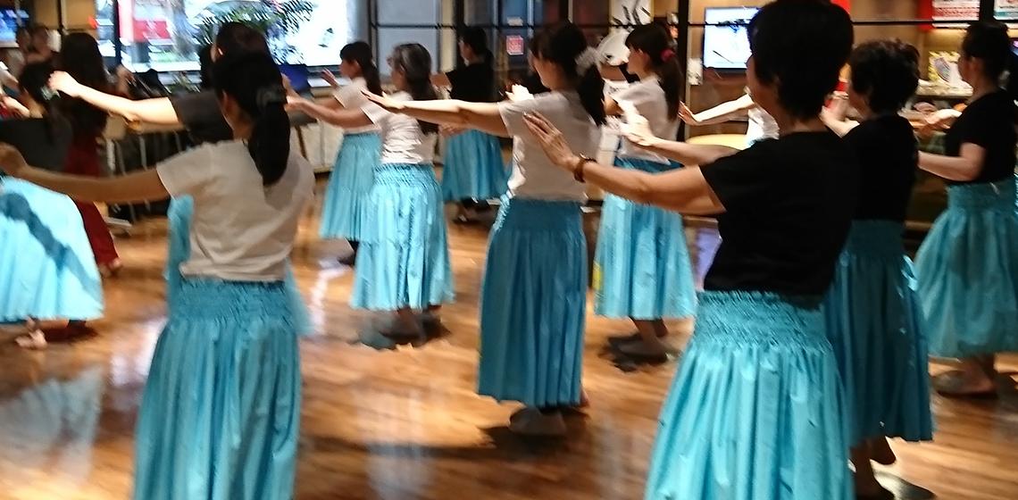 本場ハワイのフラを気軽に湘南で踊りましょう 湘南・銀座で本格ハワイ仕込みのフラダンスを学べるレッスン教室です。